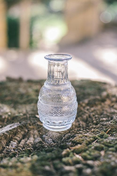 Le vase style vintage rond