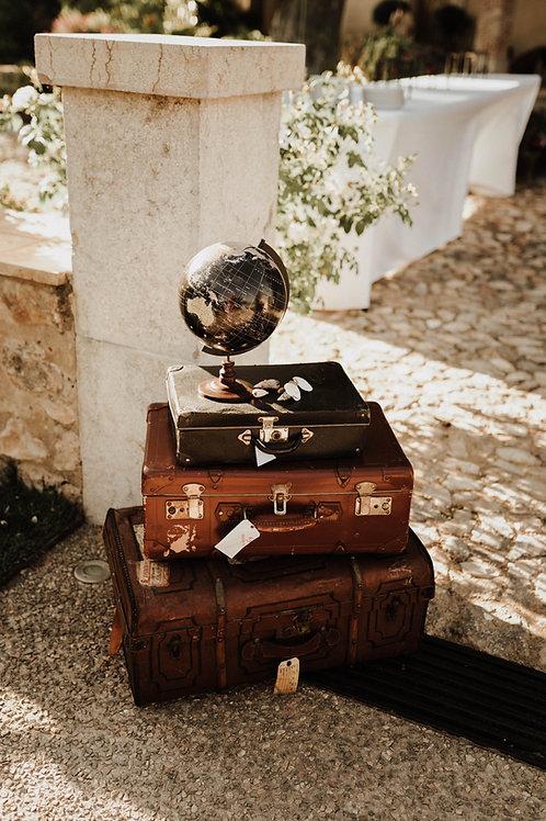 Le valise vintage - Toutes tailles