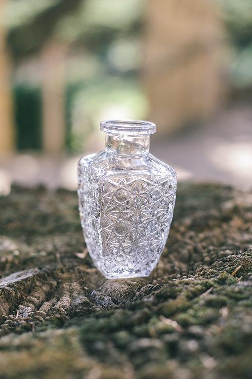 Le vase style vintage carré