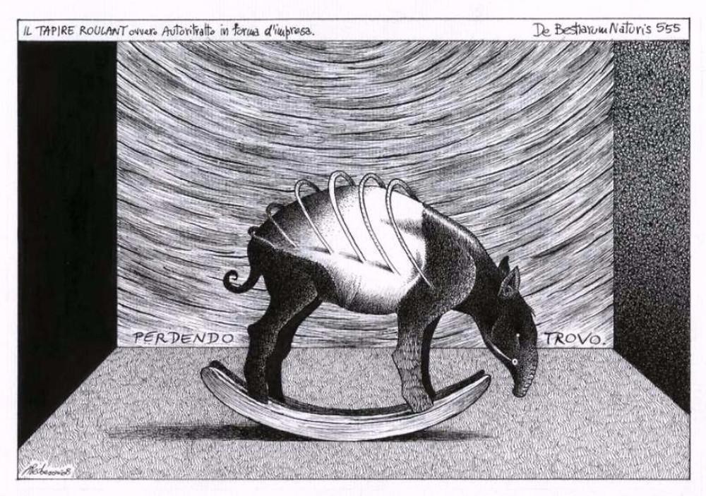 Zetaesse, Giuseppe Samonà. Questo non è un tapiro, è un formichiere