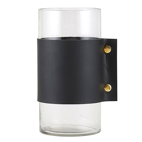 Hurricane Vase - Black Cuff