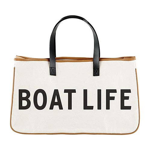 Canvas Tote- Boat Life