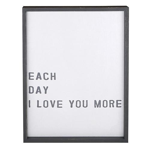 Love You 20 X 26 Framed