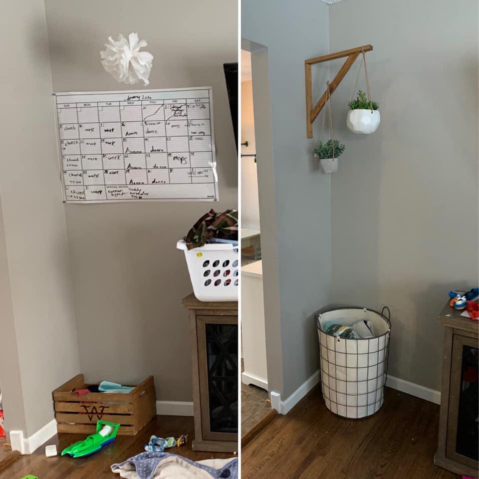 Livingroom Decoration Before/After