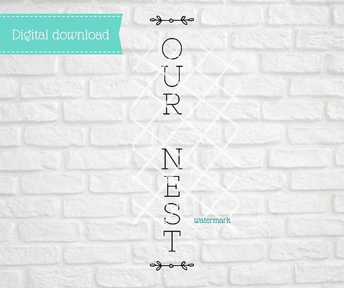 Our Nest Digital Download