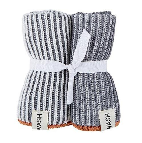 Dishcloth - Grey - Set of 2