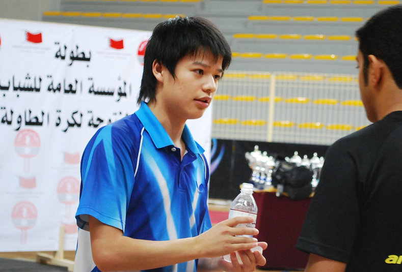 Head coach Zhu Xiaolong