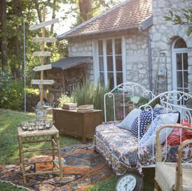 Mariage dans un jardin