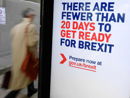 Blog: UK's no-deal Brexit ad blitz did not leave Britain better prepared – watchdog &#82
