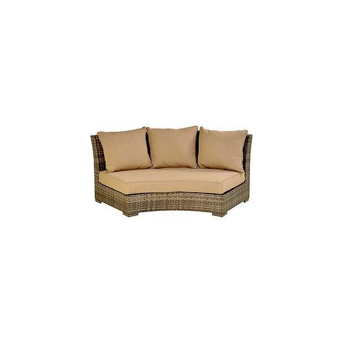 Bermuda Platinum Circular Sofa