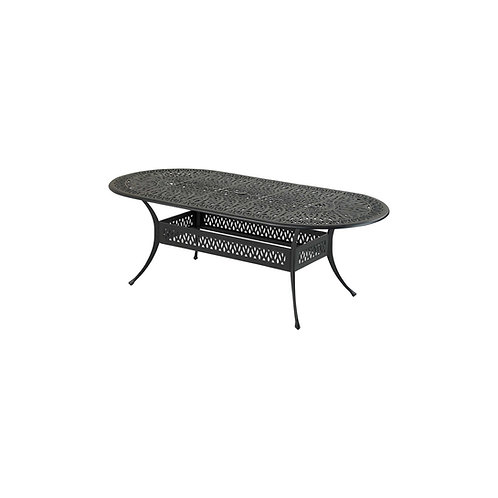"Monarch Series 84"" x 42"" Oval Dining Table"
