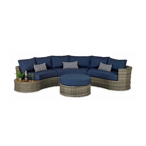 Maui Curved Sofa Set