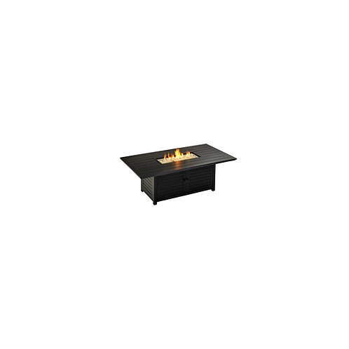 "Venice 72"" x 40"" Fire Chat Table"
