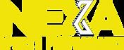 Yellow and white NEXA Sports Performance logo