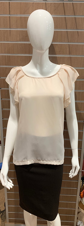 Loose Batwing Sleeve Work Top