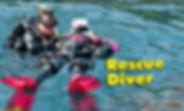 PADI, Rescue Diver, scuba diving, rescue, scuba
