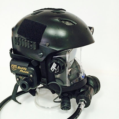 RecTEC Divers Dive/Underwater Helmet (Matte Black)