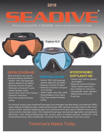 SeaDive, scuba dive masks, snorkels, fins