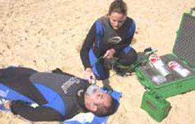PADI, Rescue Diver, emergency oxygen, scuba