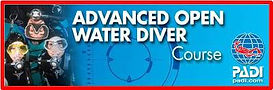 PADI, Advanced Open Water Diver, scuba