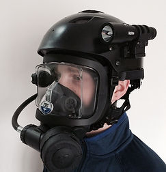 Scuba Diving Helmets, Cave Diving Helmets, Full Face Mask Diver Certification, OTS Guardian
