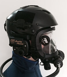 Scuba Diving Helmets, Cave Diving Helmets, Full Face Mask Training Certification, OTS Guardian