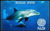 PADI, Rescue Diver, scuba diving, scuba