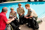 BSA Scuba Merit Badge, Boy Scouts, BSA, scuba, scuba diving, merit badge