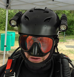 Scuba Diving Helmets, Cave Diving Helmets, Big Blue Dive Lights