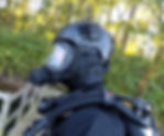Dive Helmet, Cave Helmet, OTS Guardian, Full Face Mask Training