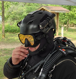 Scuba Diving Helmets, Cave Diving Helmets