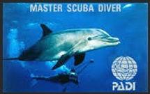 PADI, Master Scuba Diver, scuba diving, scuba