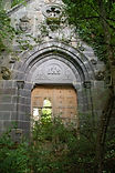 Façade actuelle de la chapelle du Doux