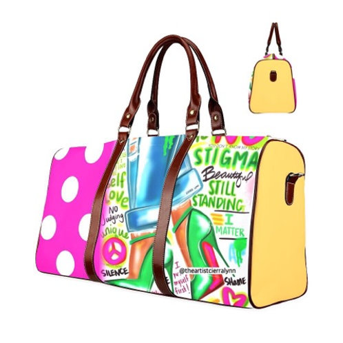 STEP AGAINT STIGMA  TRAVEL BAG