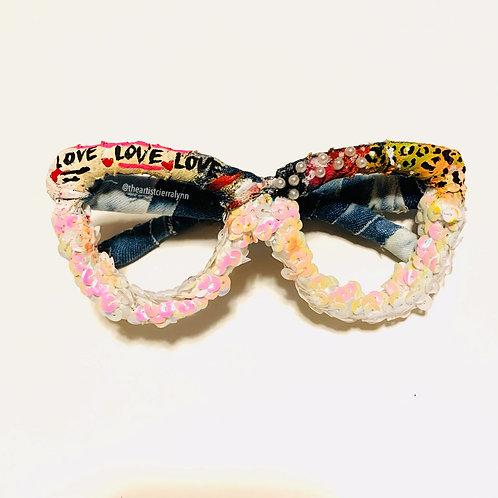 Love More  Denim Frames (NO LENS)