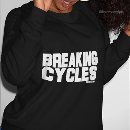 BREAKING CYCLES  (UNISEX/ OVERSIZED FIT)