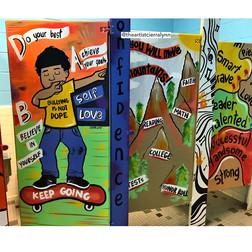 4 door stall example