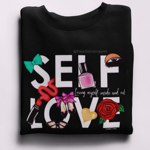 SELF LOVE  (UNISEX/ OVERSIZED FIT)