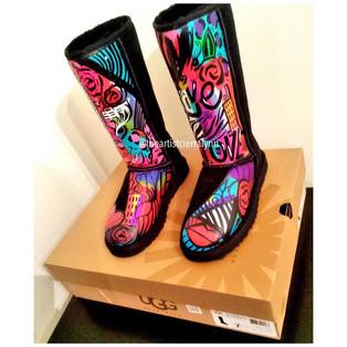 Tall Ugg Boot Design #1