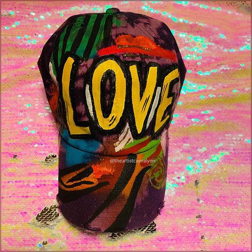 LOVE YELLOW DAD CAP