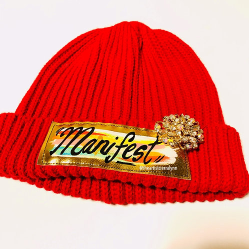 Manifest One Of  a Kind Beanie