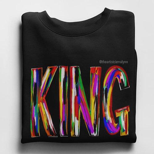 KING SWEATSHIRT BLACK SWEATSHIRT