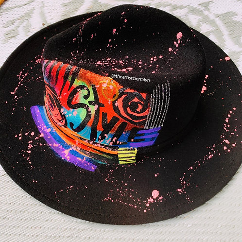 STYLE- One Of A Kind Fedora Hat