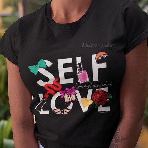 SELF LOVE  TEE  UNISEX  FIT TEE AM