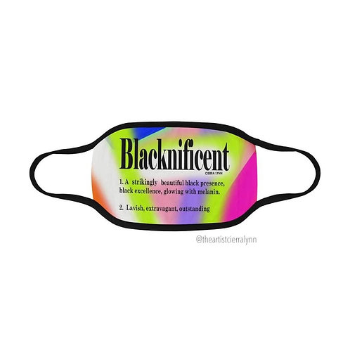 BLACKNIFICENT FACE MASK /COVER