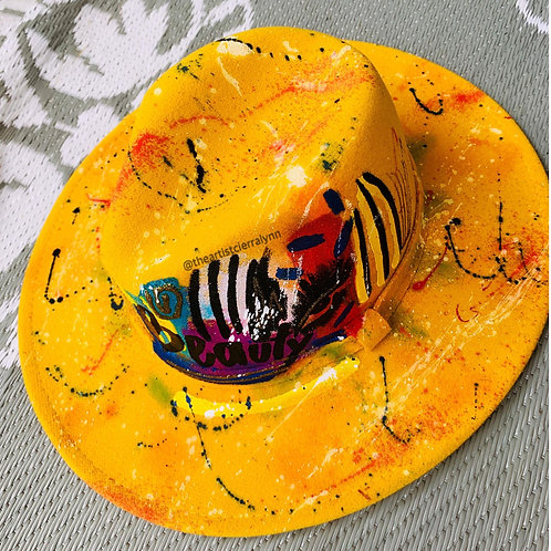 BEAUTY- One Of A Kind Fedora Hat