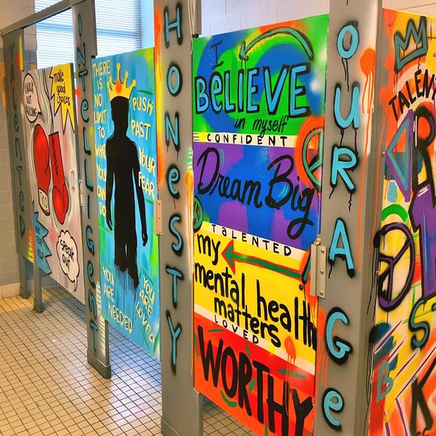 Mental Health Awareness plus affirmations