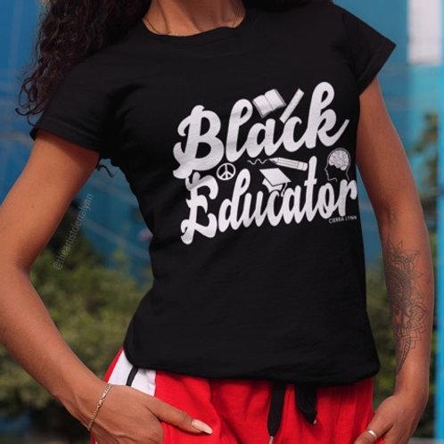 BLACK EDUCATOR UNISEX Tee