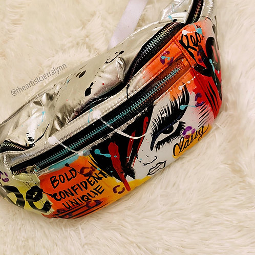 OVERSIZED BOLD AND CONFIDENT  FANNY PACK