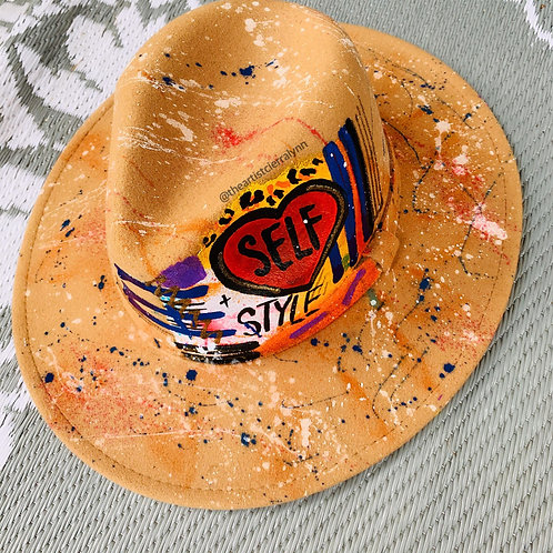 SELF LOVE- One Of A Kind Fedora Hat